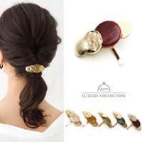 9am jewelry&accessory | ポニーフック ヘアカフス べっ甲 マーブル ヘアアクセサリー ヘアゴム