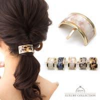 9am jewelry&accessory | ポニーフック ヘアカフス べっ甲柄 シンプル オフィス ヘアアクセサリー ヘアゴム プレゼント