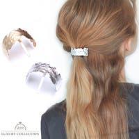 9am jewelry&accessory | ポニーフック ヘアカフス マット まとめ髪 オフィス ヘアアクセサリー ヘアゴム プレゼント