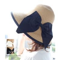 Sawa a la mode(サワアラモード )の帽子/麦わら帽子・ストローハット・カンカン帽