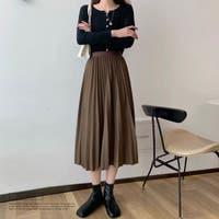 ad thie(アドティエ)のスカート/ひざ丈スカート