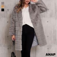 ANAP(アナップ)のアウター(コート・ジャケットなど)/ファーコート