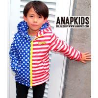 アメリカンフラッグ柄中綿ジャケット / ANAP KIDS / 425-1281