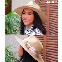 ANAP(アナップ)の帽子/麦わら帽子・ストローハット・カンカン帽