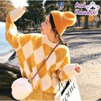 And Kawaii(アンドカワイイ)のトップス/ニット・セーター