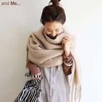 and Me(アンドミー)の小物/ストール