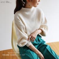 and Me(アンドミー)のトップス/ニット・セーター