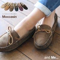 and Me(アンドミー)のシューズ・靴/モカシン