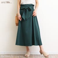 and Me(アンドミー)のスカート/フレアスカート