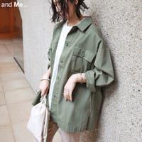 and Me(アンドミー)のアウター(コート・ジャケットなど)/MA-1・ミリタリージャケット