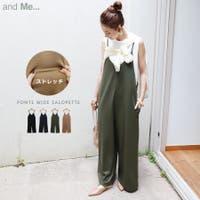 and Me(アンドミー)のワンピース・ドレス/サロペット