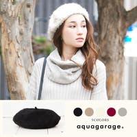 aquagarage(アクアガレージ)の帽子/ベレー帽