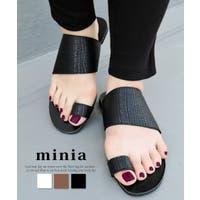 minia(ミニア)のシューズ・靴/トングサンダル