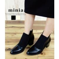 minia(ミニア)のシューズ・靴/ブーティー