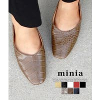 minia(ミニア)のシューズ・靴/フラットシューズ