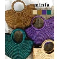 minia(ミニア)のバッグ・鞄/カゴバッグ