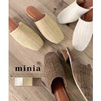 minia(ミニア)のシューズ・靴/ミュール