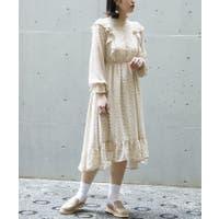 AS KNOW AS PLUS(アズノゥアズ プラス)のワンピース・ドレス/シフォンワンピース