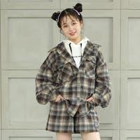 BABYDOLL   PINKHUNT ピンクハント チェック アウター シャツ 5950K 子供服 キッズ ジュニア 女の子 PH 中学生女子 ファッション 服 小学生 かわいい 韓国子供服