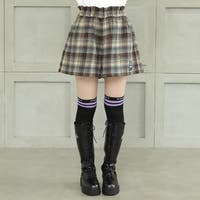 BABYDOLL   PINKHUNT ピンクハント チェック キュロット 5951K 子供服 キッズ ジュニア 女の子 PH 中学生女子 ファッション 服 小学生 かわいい 韓国子供服