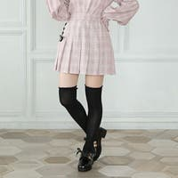 BABYDOLL   PINKHUNT ピンクハント レースアップ プリーツ スカート 5966K 子供服 キッズ ジュニア 女の子 PH 中学生女子 ファッション 服 小学生 かわいい 韓国子供服