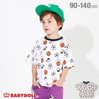 BABYDOLL | 通販限定 スヌーピー スポーツ 総柄 Tシャツ 4231K ベビードール BABYDOLL 子供服 ベビー キッズ 男の子 女の子