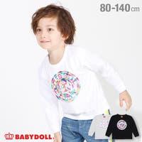 レインボー箔 ロンT 4462K ベビードール BABYDOLL 子供服 ベビー キッズ 男の子 女の子