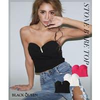 BLACK QUEEN (ブラッククイーン )のトップス/チューブトップ・ベアトップ