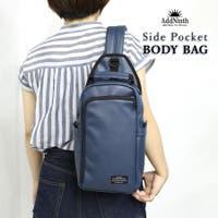 epic エピック | 【合皮ボディバッグ】【ys190565】サイドポケット付き合皮ボディバッグ!外側のポケットが便利なシンプルボディバッグ!