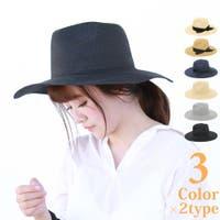 Brightlele(ブライトララ)の帽子/麦わら帽子・ストローハット・カンカン帽