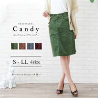 Select Shop Candy(セレクトショップキャンディ)のスカート/ひざ丈スカート
