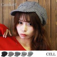 CELL(シエル)の帽子/キャスケット