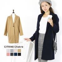 CITRINE Chakra(シトリンチャクラ)のアウター(コート・ジャケットなど)/チェスターコート