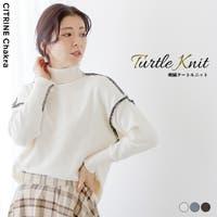 CITRINE Chakra(シトリンチャクラ)のトップス/ニット・セーター