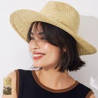 coca(コカ)の帽子/麦わら帽子・ストローハット・カンカン帽