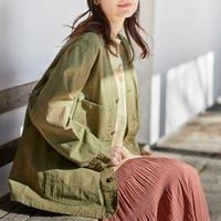 coen【women】(コーエン)のアウター(コート・ジャケットなど)/ノーカラージャケット