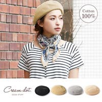 CREAM-DOT(クリームドット)の帽子/ニット帽