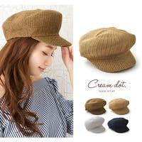 CREAM-DOT(クリームドット)の帽子/キャスケット