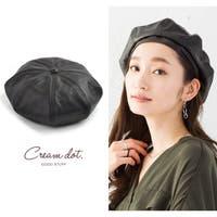 CREAM-DOT(クリームドット)の帽子/ベレー帽