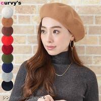 curvy's (カービーズ)の帽子/ベレー帽