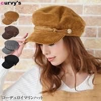 curvy's (カービーズ)の帽子/キャスケット