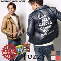 fuzzy(ファジー)のアウター(コート・ジャケットなど)/ライダースジャケット