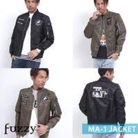fuzzy(ファジー)のアウター(コート・ジャケットなど)/MA-1・ミリタリージャケット