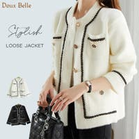 Doux Belle (ドゥーベル)のアウター(コート・ジャケットなど)/ノーカラージャケット