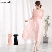 Doux Belle (ドゥーベル)のワンピース・ドレス/シフォンワンピース