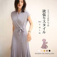 SAISON DE PAPILLON (セゾン ド パピヨン)のワンピース・ドレス/ドレス