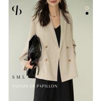 SAISON DE PAPILLON (セゾン ド パピヨン)のアウター(コート・ジャケットなど)/テーラードジャケット