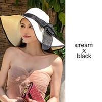 fashion box (ファッションボックス)の帽子/麦わら帽子・ストローハット・カンカン帽