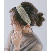 Fashion Letter(ファッションレター)のヘアアクセサリー/カチューシャ