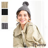 FUENTE(フェンテ)の帽子/ニット帽